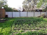 Металлический плетеный забор
